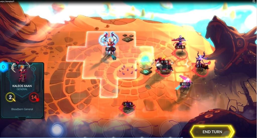 Duelyst seeks to perfect multiplayer turn-based battles