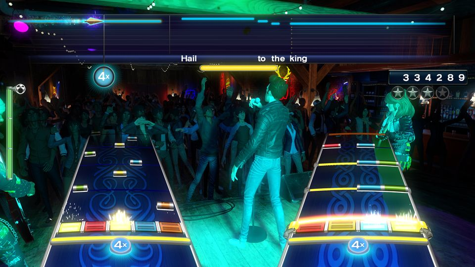 Rock Band 4 is Rock Band and more