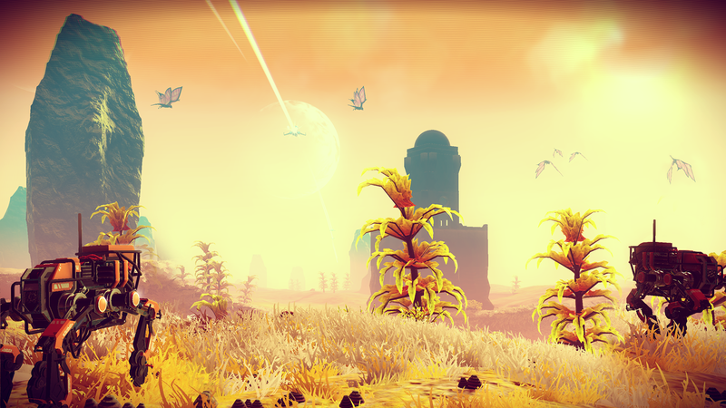 What exactly goes on in No Man's Sky?