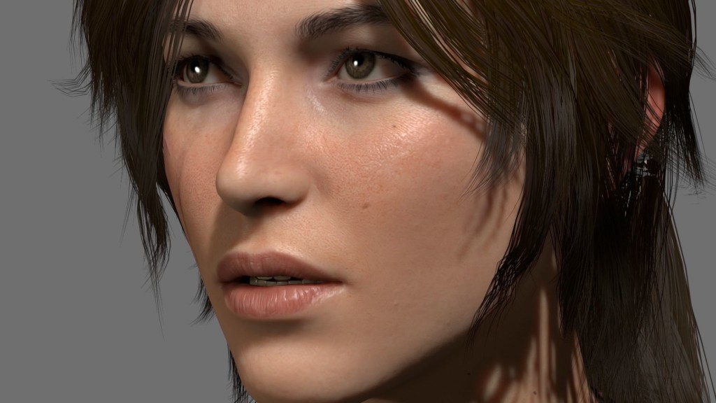 The reconstruction of Lara Croft